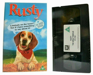 Rusty: The Great Rescue (1998) -<Brand New Sealed>- Family Adventure - Pal VHS