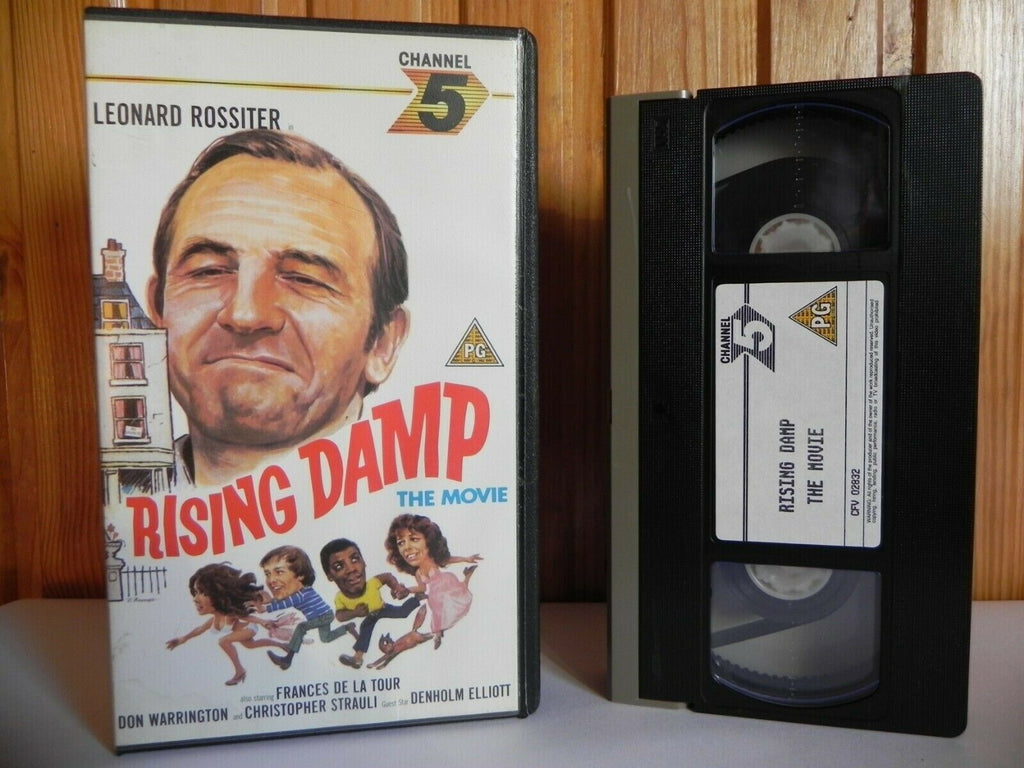 Rising Damp: The Movie - 1986 Channel 5 - Comedy - Leonard Rossiter - Pal VHS
