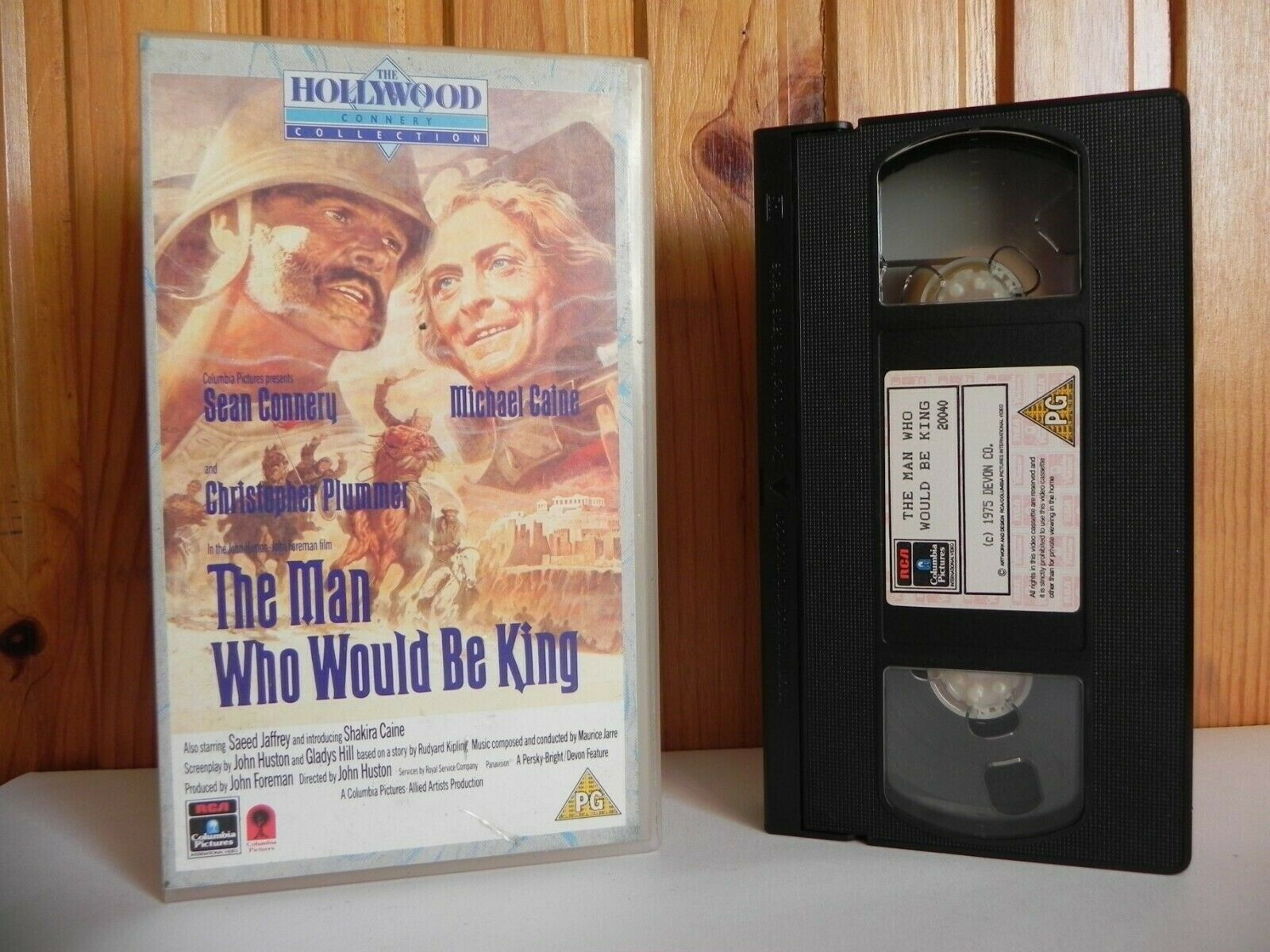 The Man Who Would Be King - Hollywood Classic - 1880's India Adventures - VHS