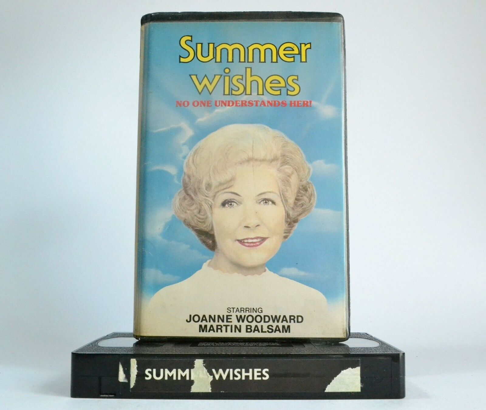Summer Wishes: Patronising Husband/Raging Mom - Joanne Woodward - Pre-Cert - VHS