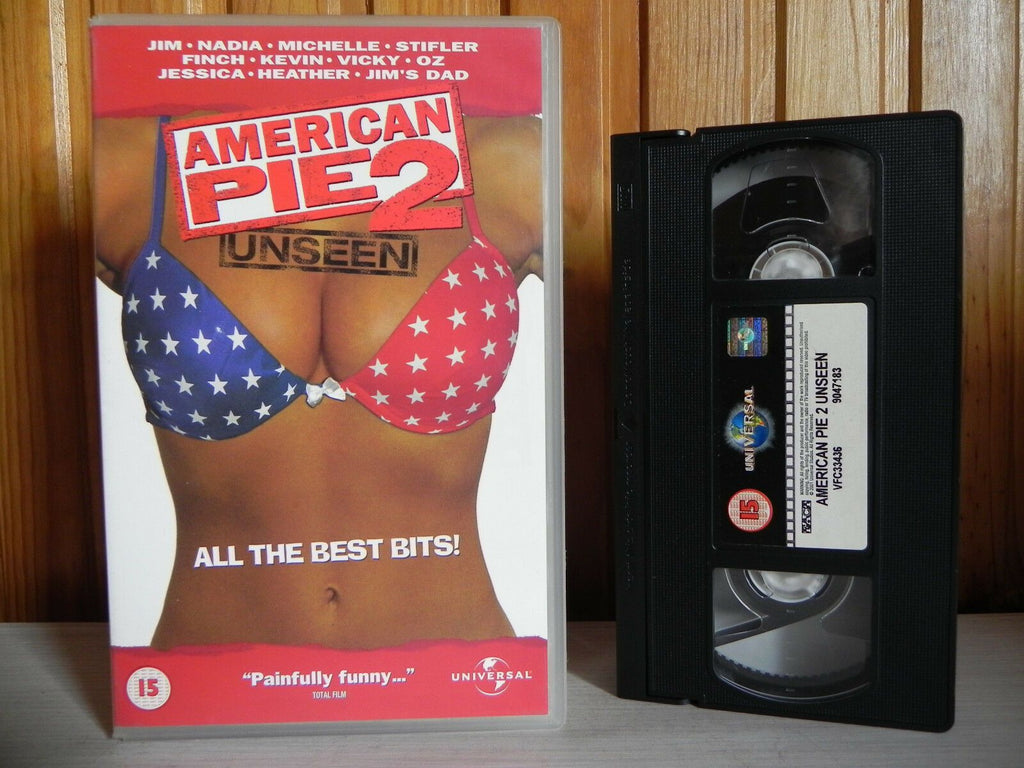 American Pie 2 - Universal - Comedy - Unseen - Painfully Funny - Big Box - VHS