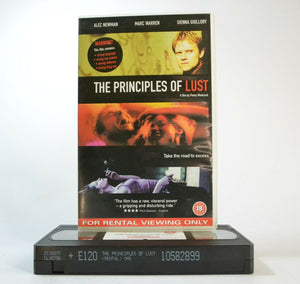 The Principles Of Lust: Drama - Road To Excess - Large Box - Ex-Rental - Pal VHS