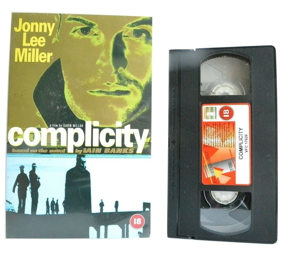 Complicity: Based On I.Banks Novel - Large Box - Drama - Jonny Lee Miller - VHS