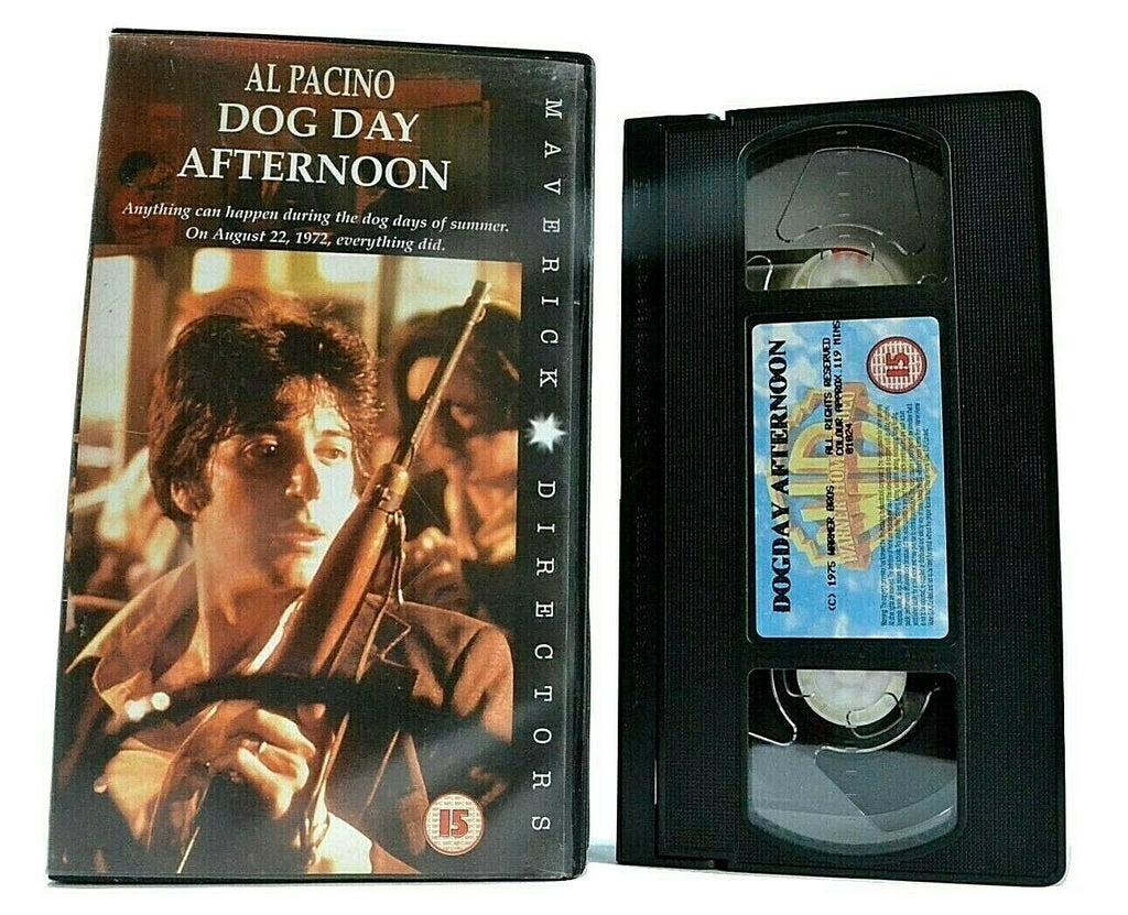 Dog Day Afternoon (1975): Biographical Action - Al Pacino / John Cazale - VHS