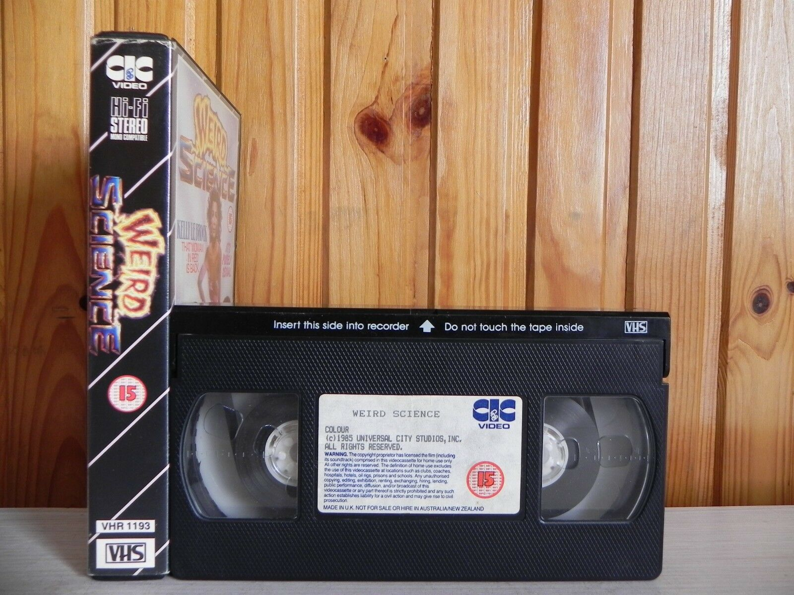 Weird Science - Early Release CIC Video - 1193 - Sci-Fi - Kelly Le Brock - VHS