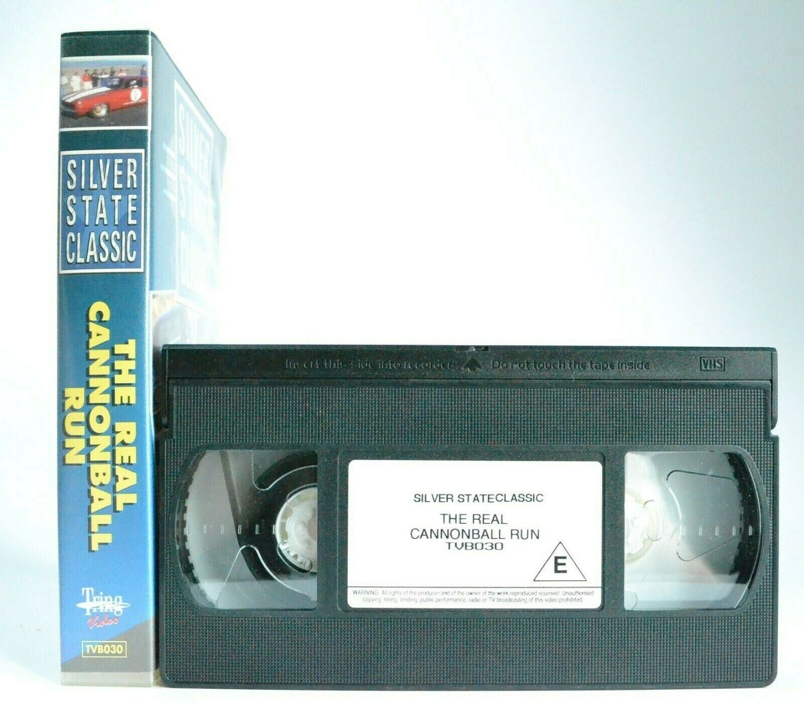 Silver State Classic: The Real Cannonball Run - Fastest Open Road Race - Pal VHS