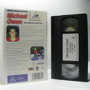 Michael Owen: The World At His Feet - World Cup - France'98 - Football - Pal VHS