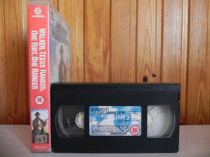 Walker Texas Ranger - Original Chuck Norris - Big-Box - Urban--Action - Pal VHS