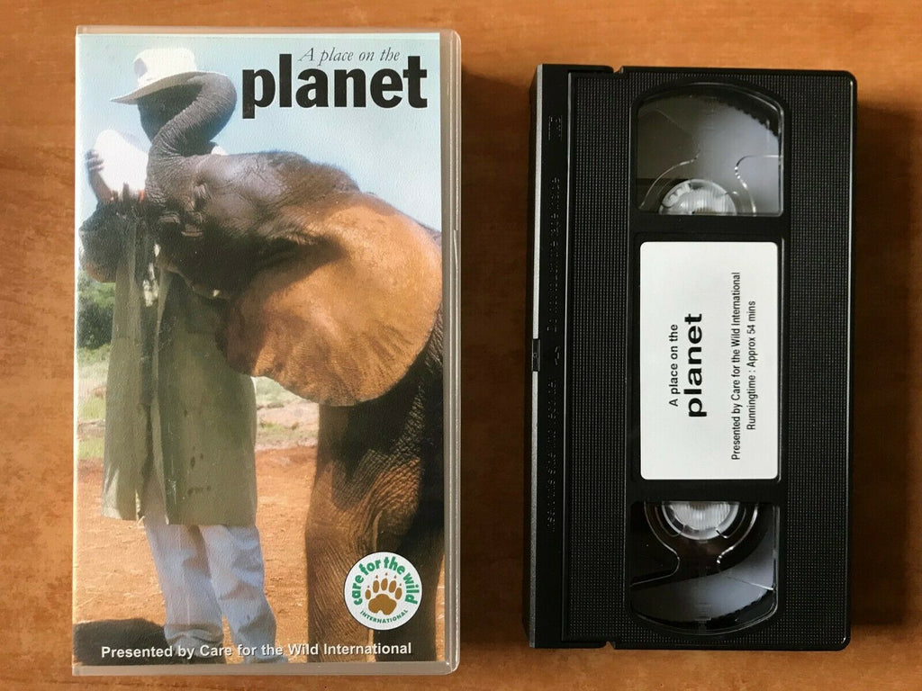 A Place On The Planet; [Mia Evans]: Nairobi National Park - Elephants - Pal VHS