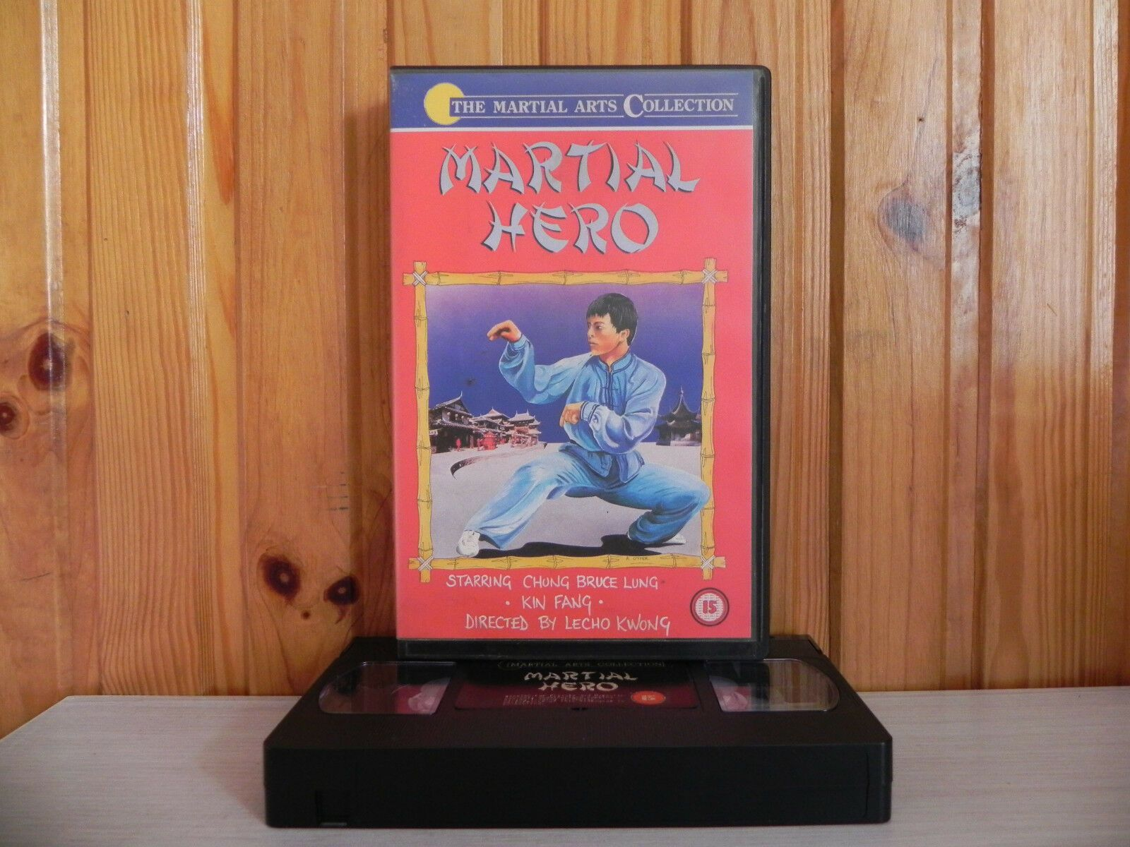 Martial Hero - Chueng Lung/Kin Fang/Lecho Kwong - Big-Box - Kung-Fu - VHS