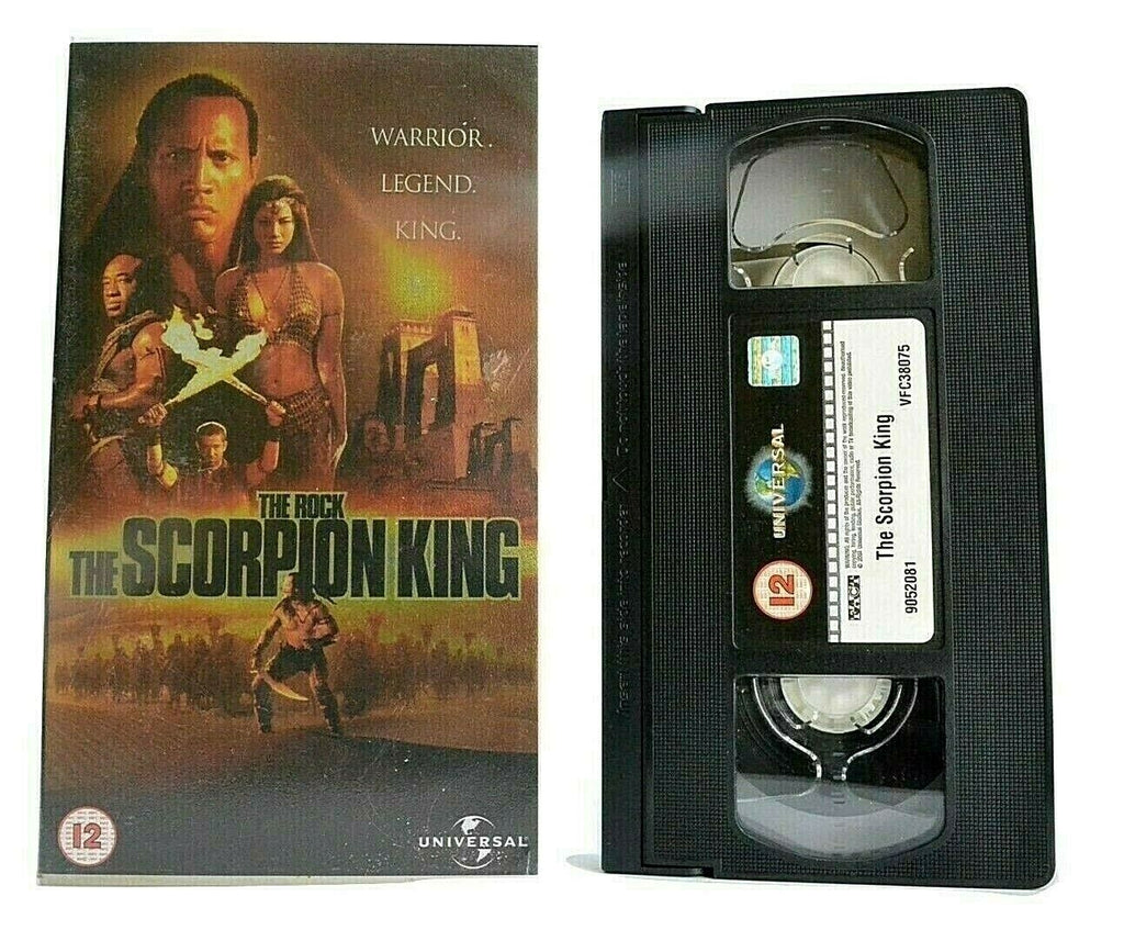 "The Scorpion King: Historical Action Fantasy - Dwayne ""The Rock"" Johnson - VHS"