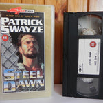 "Steel Dawn (1987): ""Mad Max"" Syle - Action Sci-Fi - Patrick Swayze - Pal VHS"