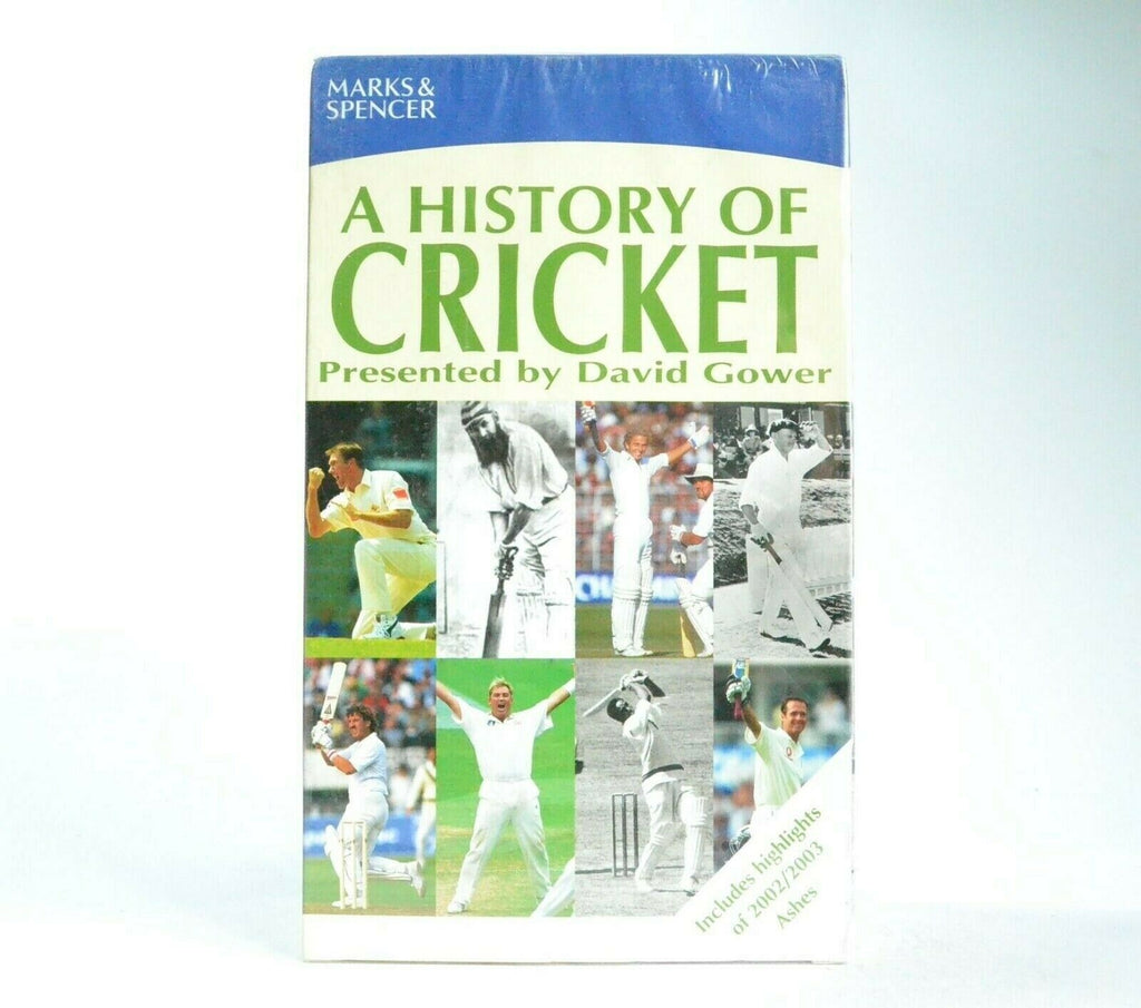And, Cricket, David, Gower, Highlights, History, Marks, NEW, No, Of, PAL, Spencer, Sports, VHS