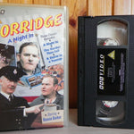Porridge - A Night In - BBC - Three Classic Episodes - TV Series - Pal VHS