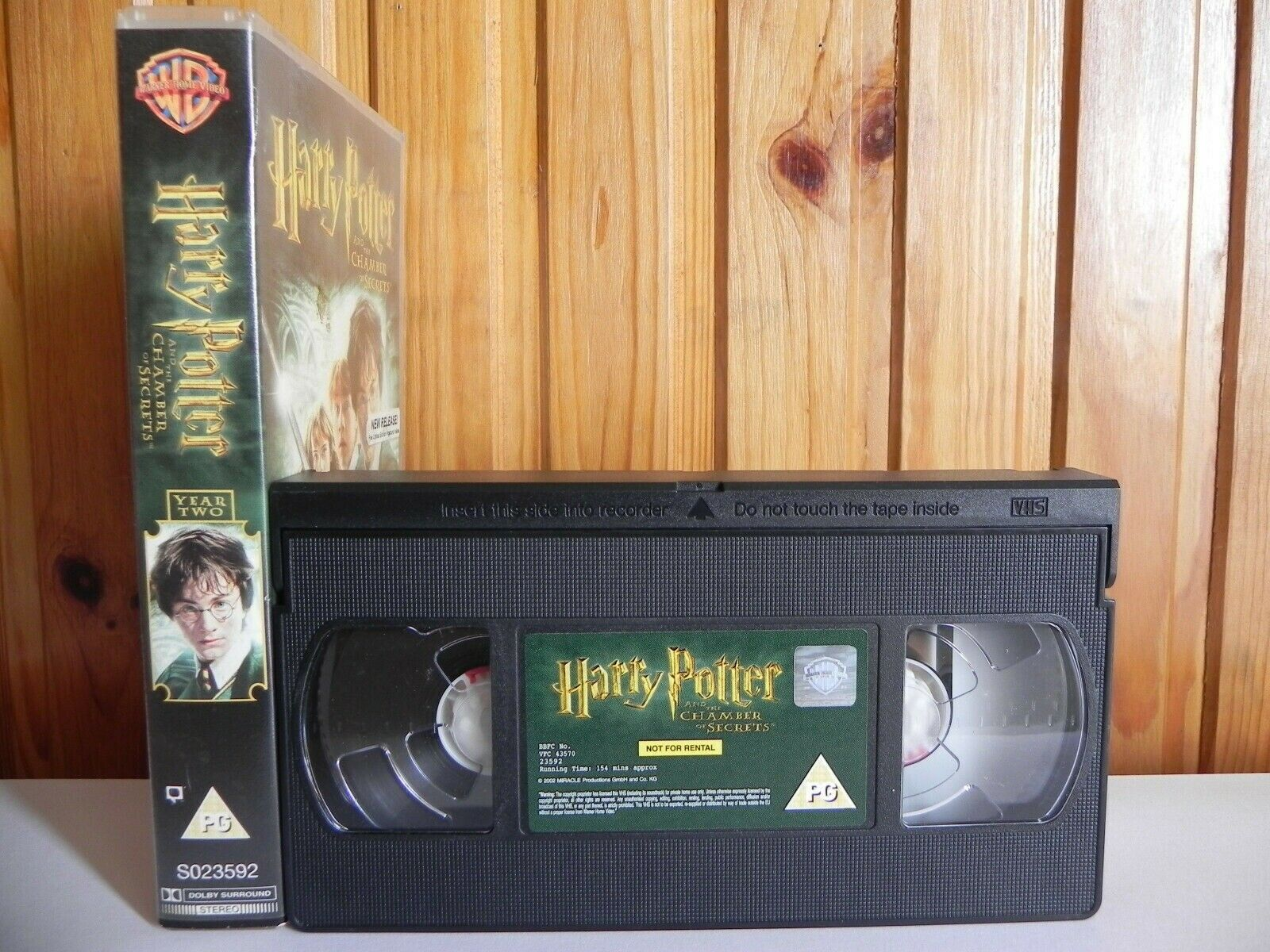 Harry Potter And The Chamber Of Secrets - Warner - Fantasy - Children's - VHS