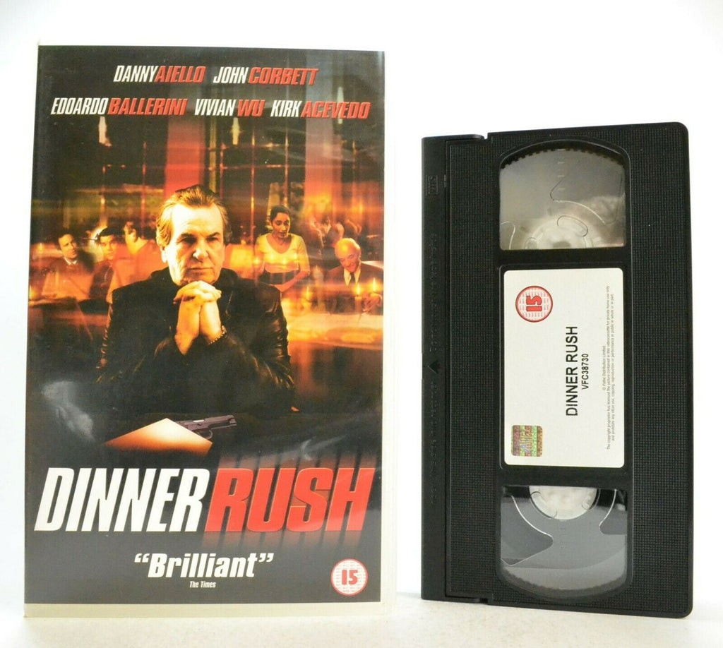Dinner Rush: Independent Drama (2000) - Large Box - D.Aiello/J.Corbett - Pal VHS