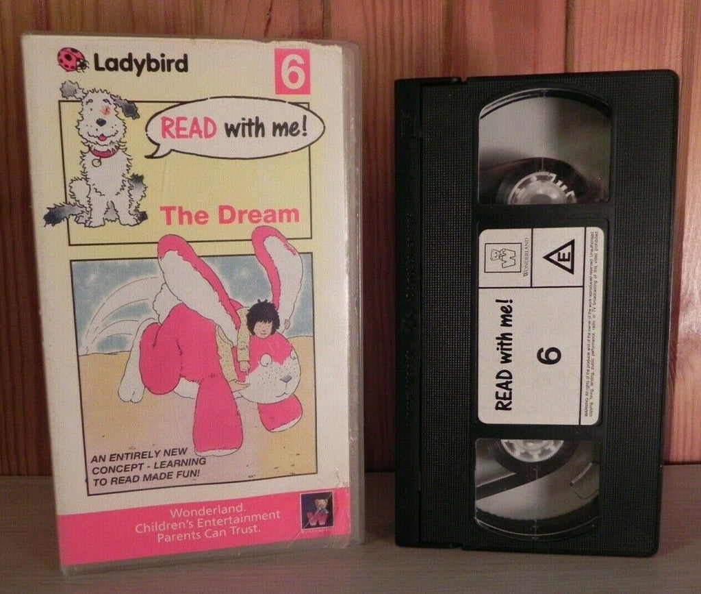 Read With Me: The Dream (1990) - Learning - Educational - Children's - Pal VHS