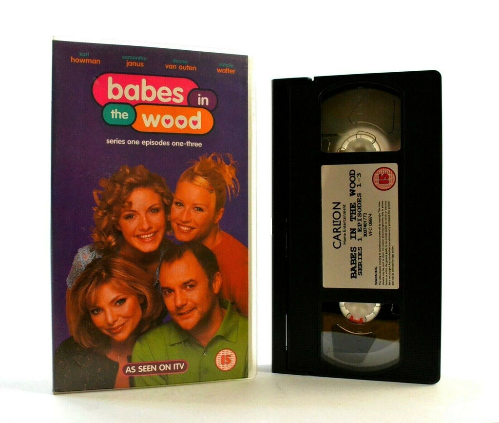 Babes In The Wood: Modern Comedy - Series One/Ep. One-Three - TV Series - VHS