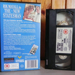 Rick Mayall Is The New Statesman - 2 Full-Lenght Episodes - Tv Series - Pal VHS