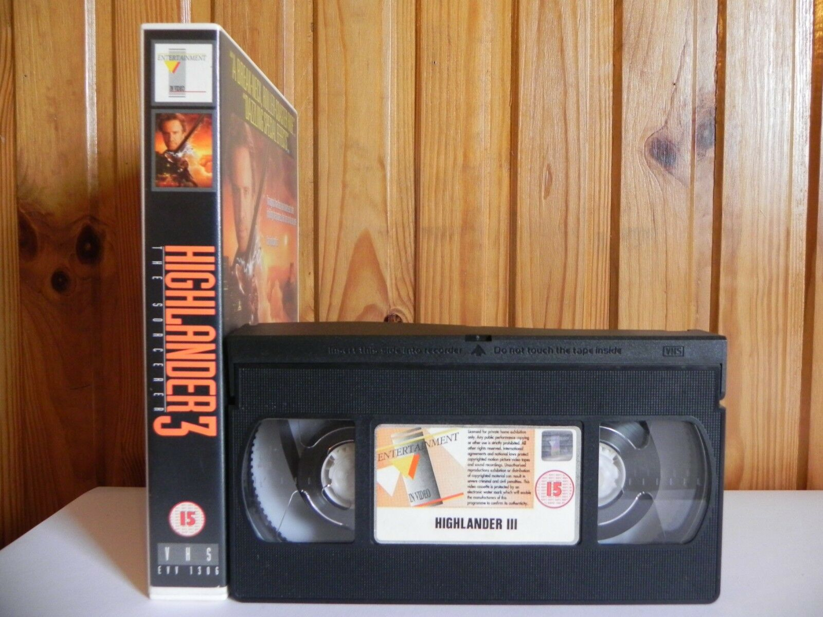 Action, Action & Adventure, Fantasy, Highlander, Occult/Supernatural, PAL, Sci-Fi & Fantasy, VHS, Video