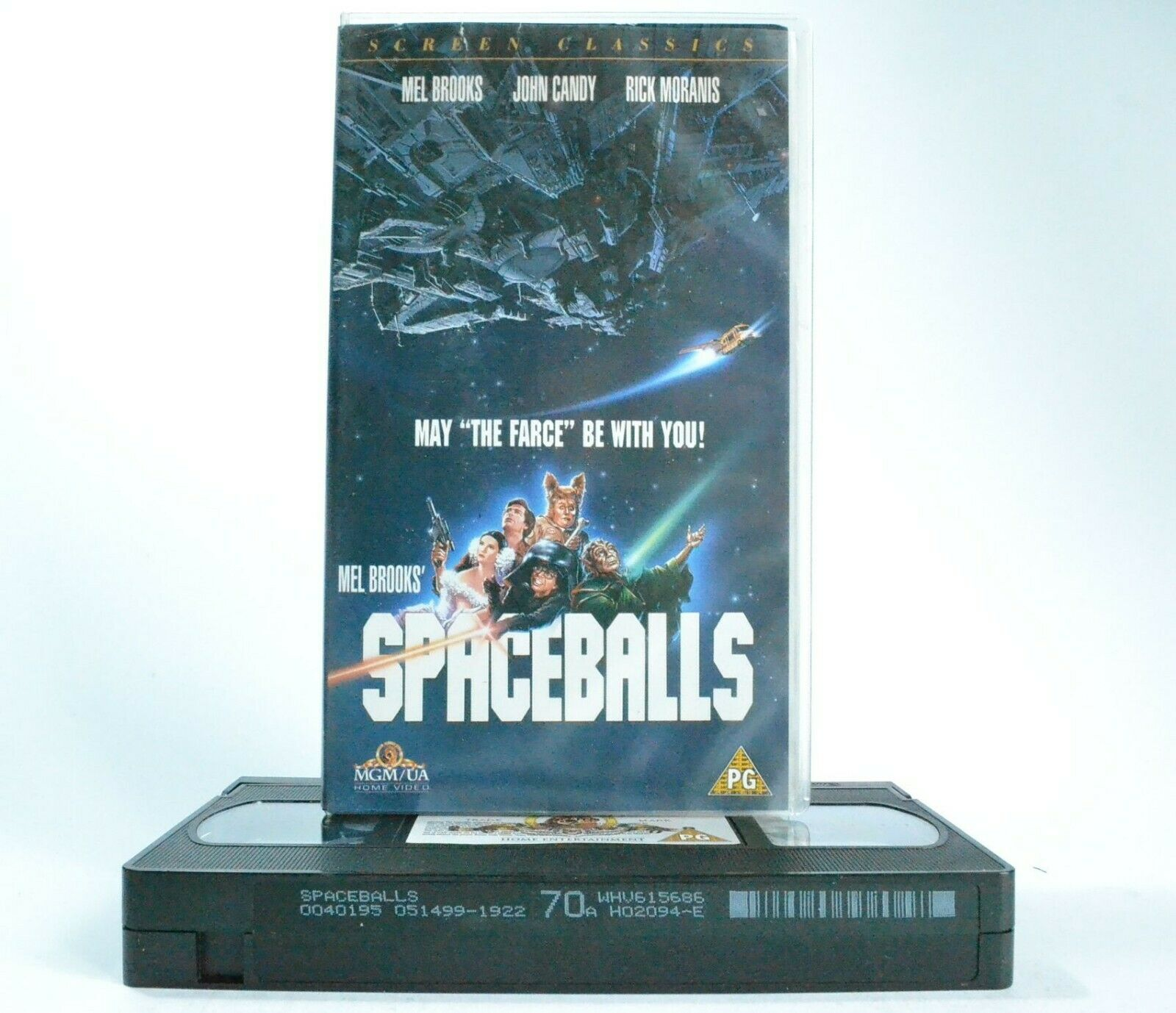 Spaceballs: Film By M.Brooks - MGM/UA (1987) - Comedy Classic - J.Candy - VHS