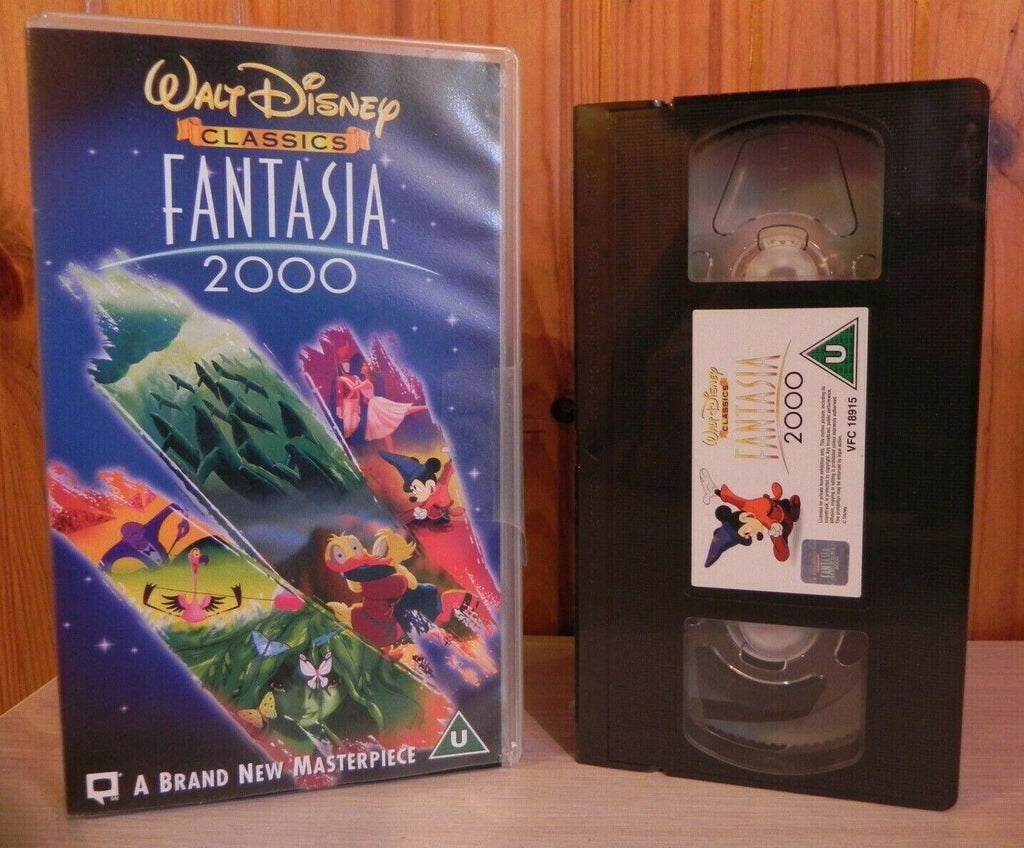 Fantasia 2000 : 38th Disney Animated Film - Brand New Sealed - Children's - VHS