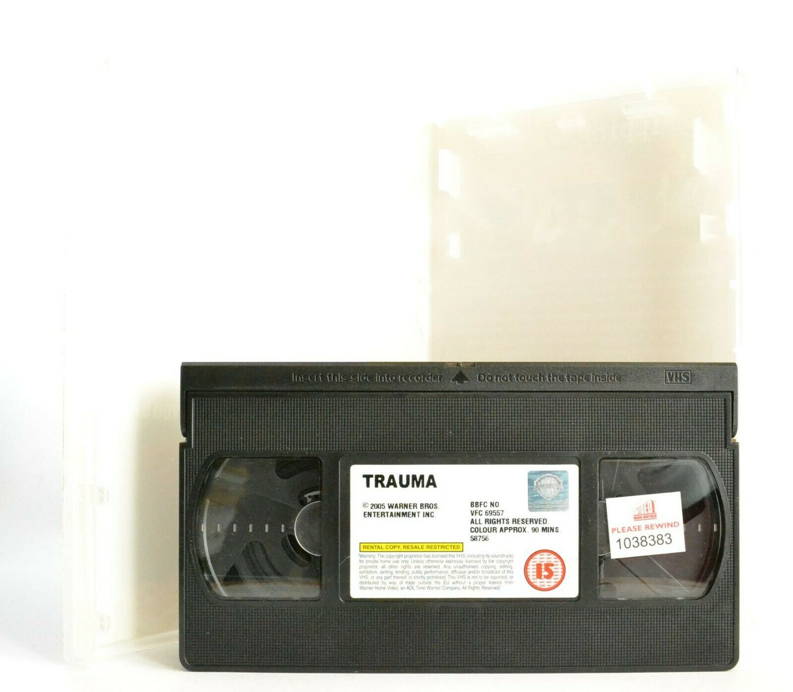 Trauma: Gripping Thriller - Large Box - Ex-Rental - C.Firth/M.Suvari - Pal VHS