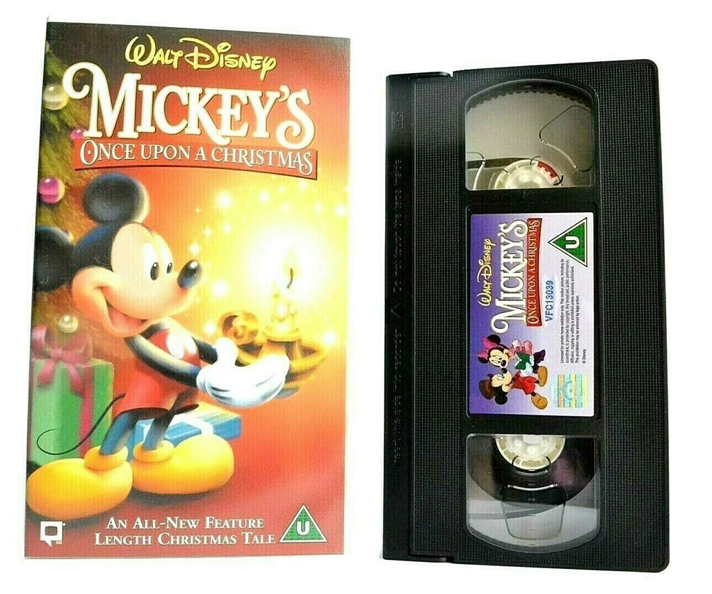 Mickey's Once Upon A Christmas: Goofy - Pluto - Daisy - Minnie - Kids - Pal VHS