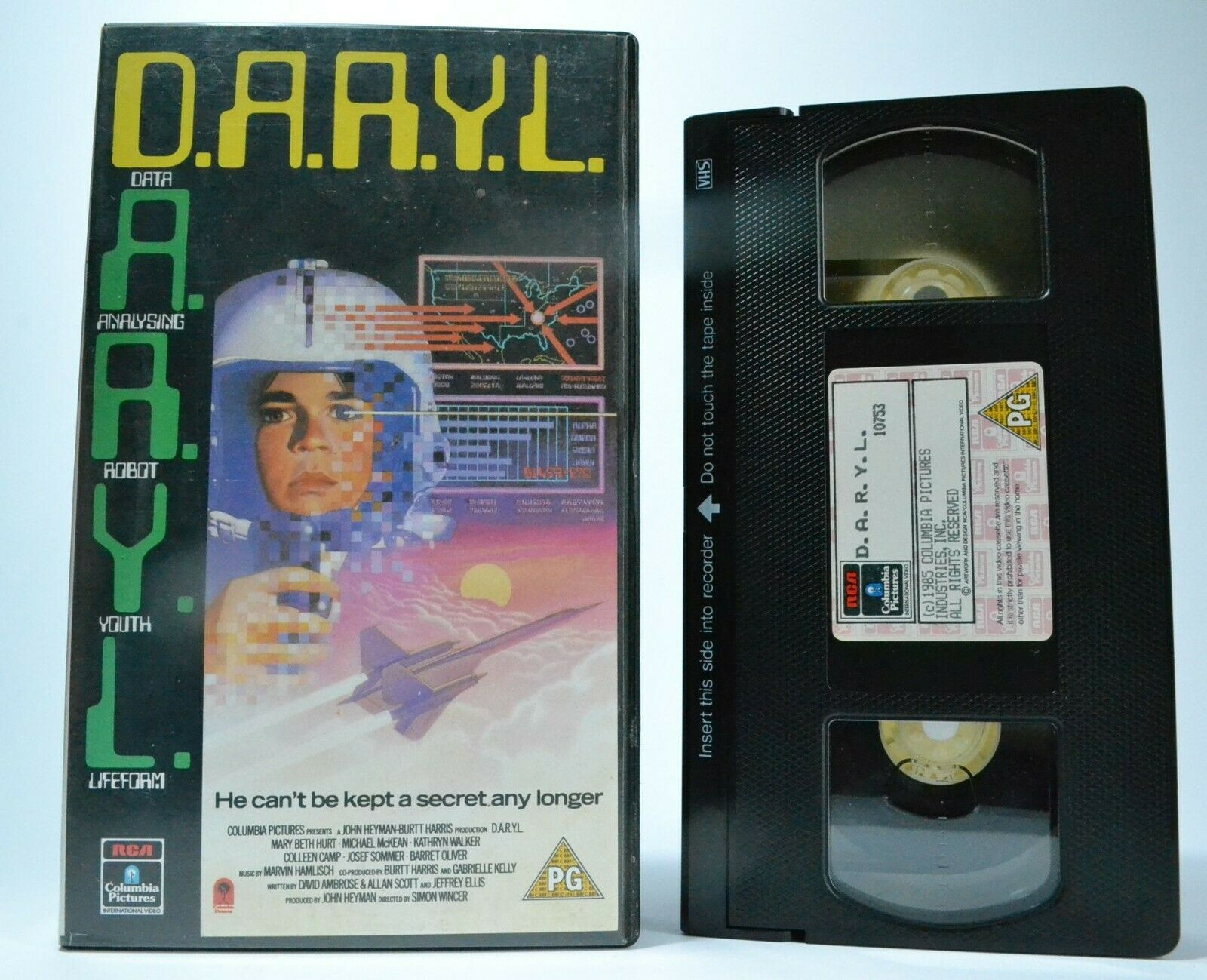 Artificial, Experiment, Experimental, Intelligence, Pal, Sci-Fi & Fantasy, VHS