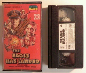 The Eagle Has Landed: Sleeve And Case Only - Michael Caine - Pre Cert VHS