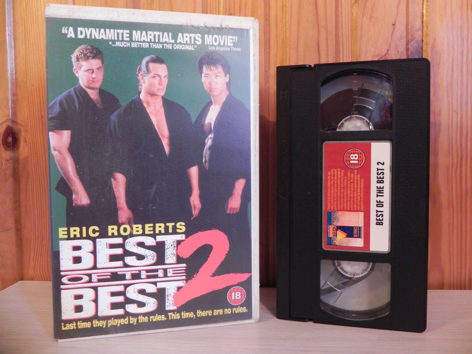 Best Of The Best 2 - Underground Fighting Ring - Big Box - Ex-Rental - VHS
