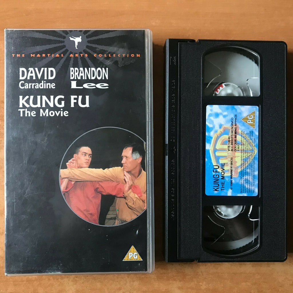 Kung Fu: The Movie; (1986) Made For T.V. - Martial Arst - Brandon Lee - Pal VHS