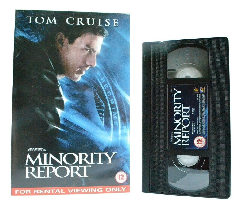 Minority Report: An S.Spielberg Film - Based On P.K.Dick Story - T.Cruise - VHS