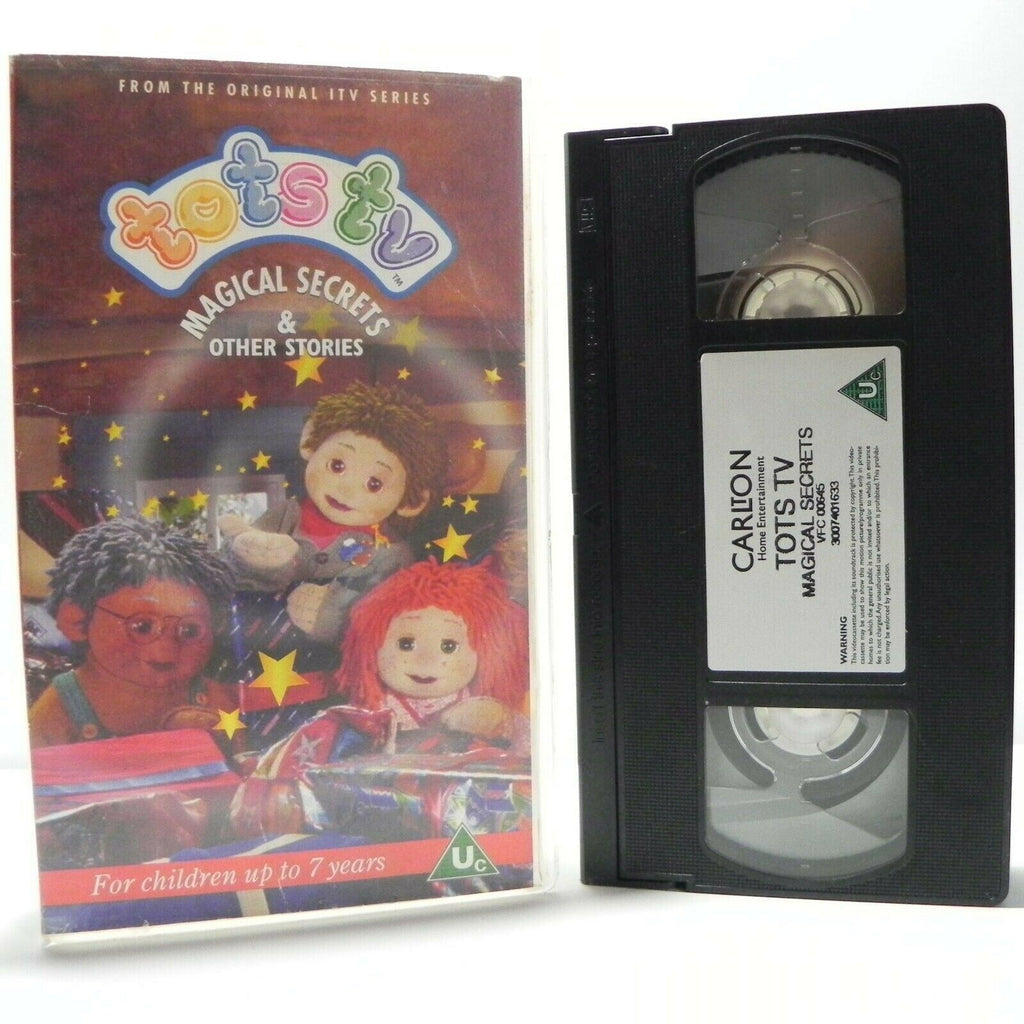 Tots TV: Magical Secrets - Classical - Educational - Learning - Kids - Pal VHS