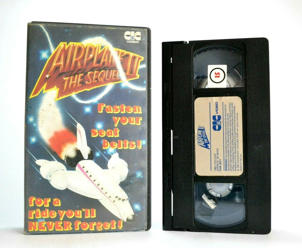 Airplane 2: The Sequel - CIC Video (1982) - Parody Comedy - Pre-Cert - Pal VHS
