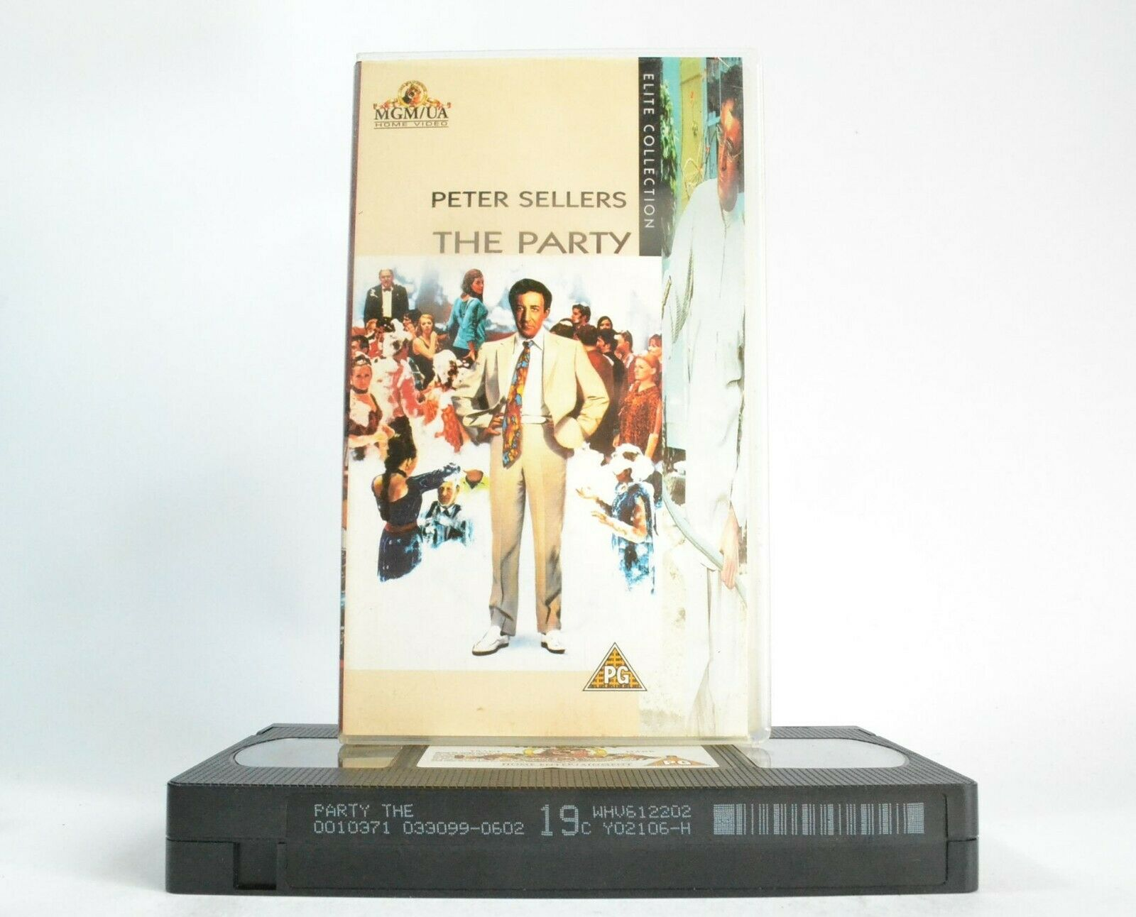 The Party (1968); [Blake Edwards] - Improvisational Comedy - Peter Sellers - VHS