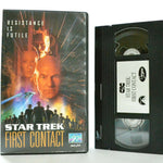 Star Trek: First Contact - Sci-Fi (1996) - Space Opera - Patrick Stewart - VHS