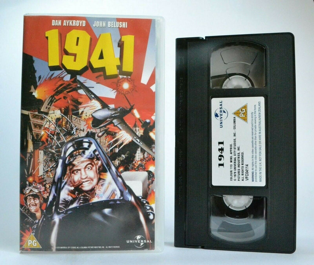 Action, An, Aykroyd, Comedy, Dan, Film, No, PAL, Period, Spielberg, Steven, VHS