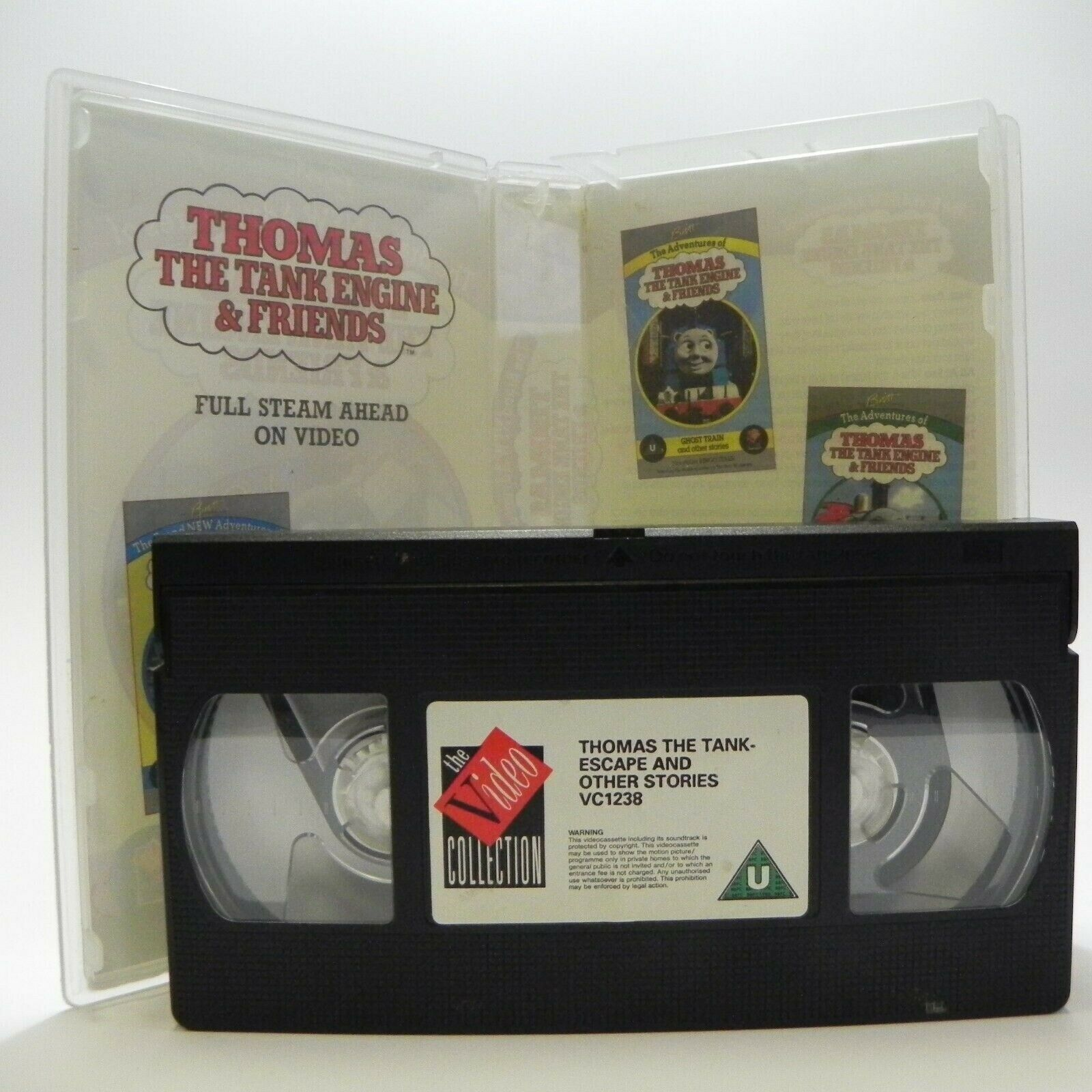 Thomas The Tank Engine And Friends: Escape - Classic Animation - Kids - Pal VHS