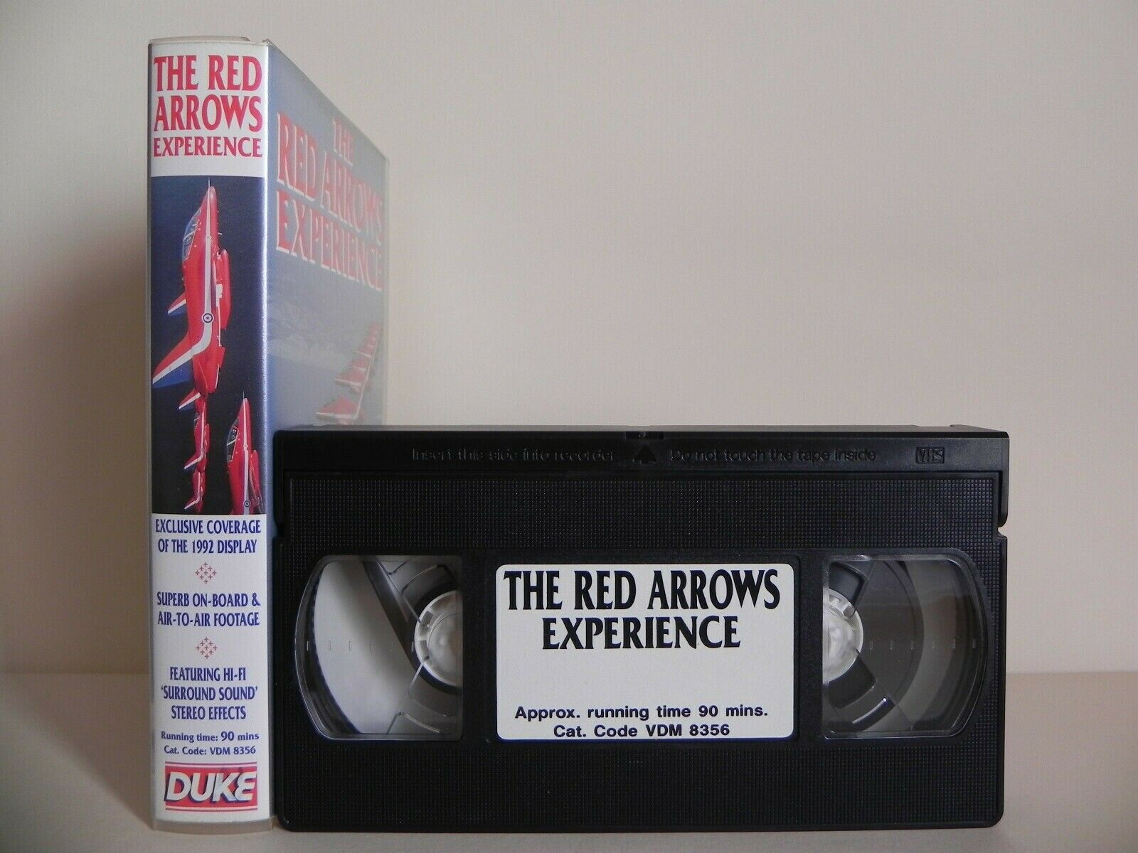 The Red Arows Experience - Exclusive Coverage - Stereo Effects - 90 mins - VHS
