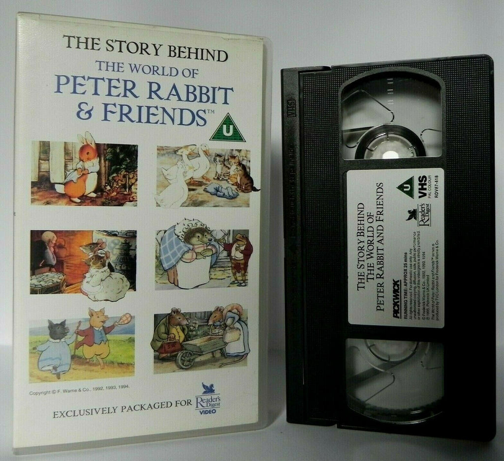 The Story Behind: Peter Rabbit And Friends - Beatrix Potter - Documentary - VHS