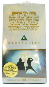 Star Wars Trilogy [Widescreen] - THX Mastered -< Brand New Sealed >- Pal VHS