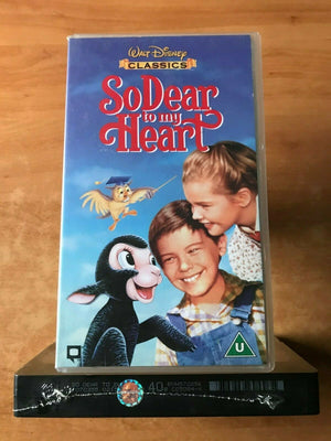 So Dear To My Heart; [Brand New Sealed] Family Drama - Animated - Kids - Pal VHS