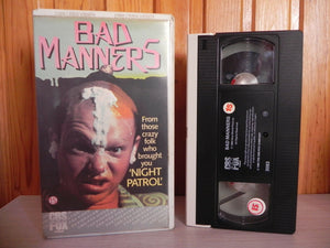 1984, Bad, Comedy, Deleted Title, Early, Manners, Mental, Pal, Release, Thriller, VHS