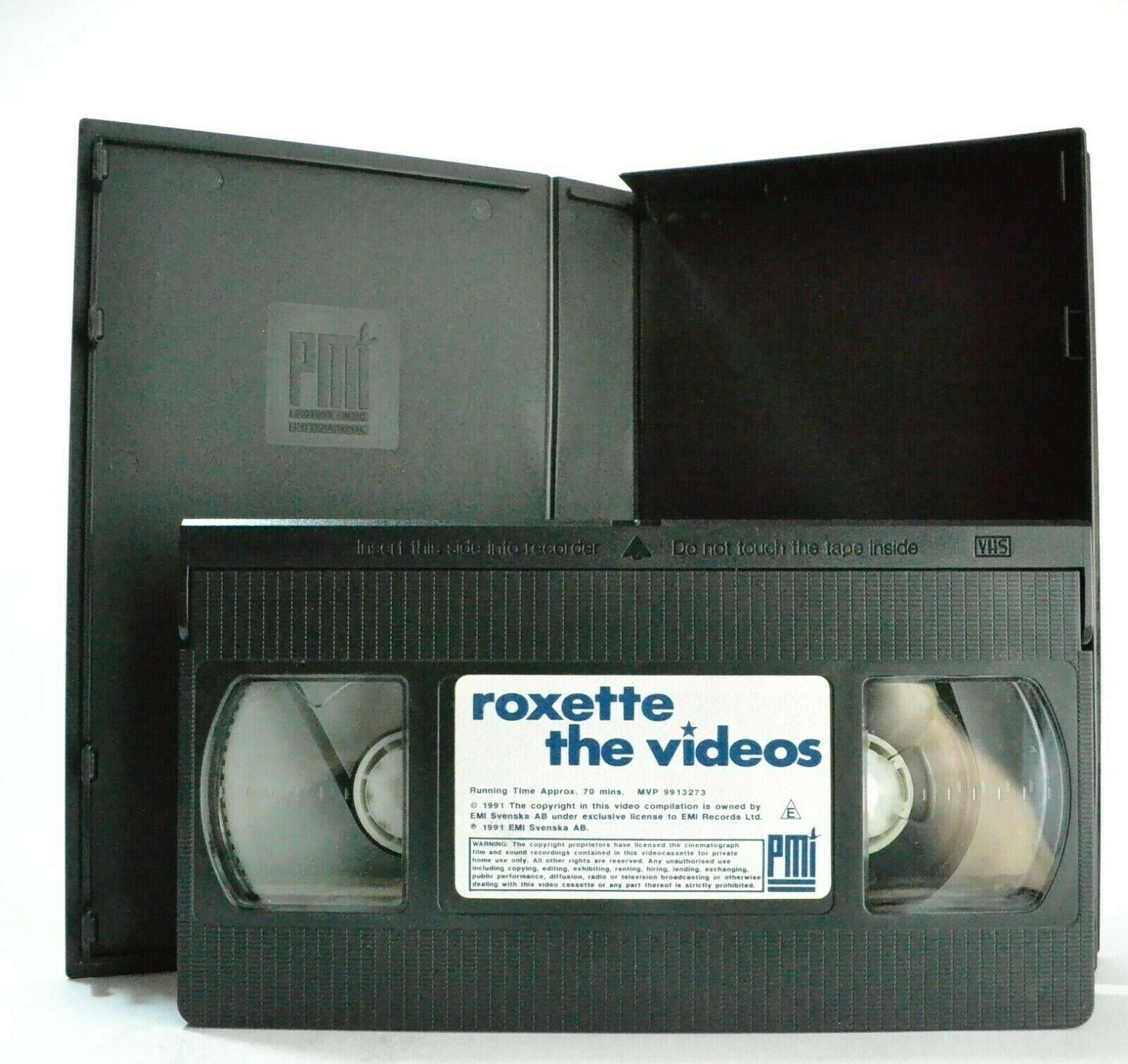 Roxette: The Videos - The Look - Dangerous - Joyride - The Big L - Music - VHS