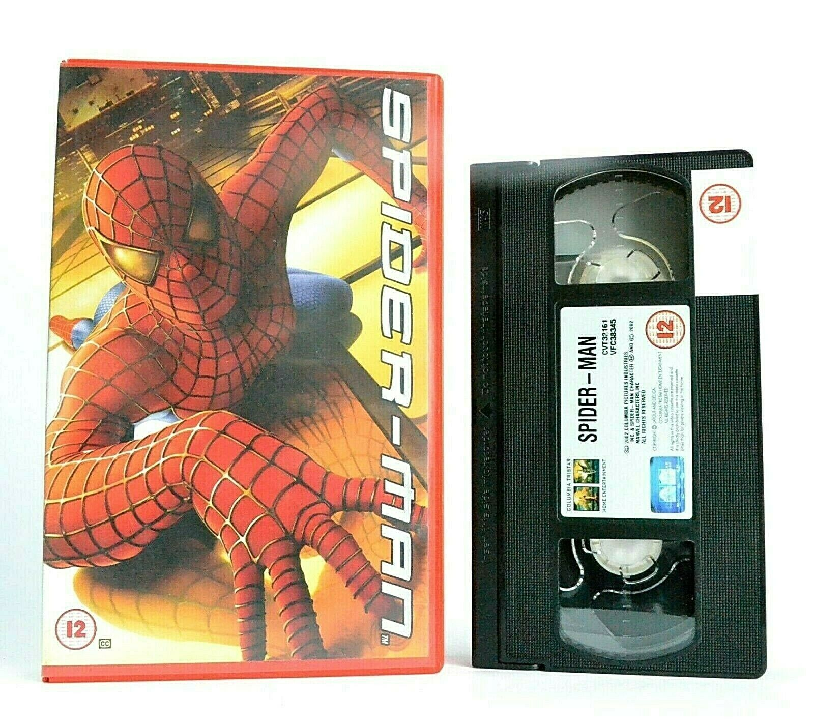 Spider Man [Sam Raimi]: Superhero Action [Large Box] - Tobey Maguire - Pal VHS
