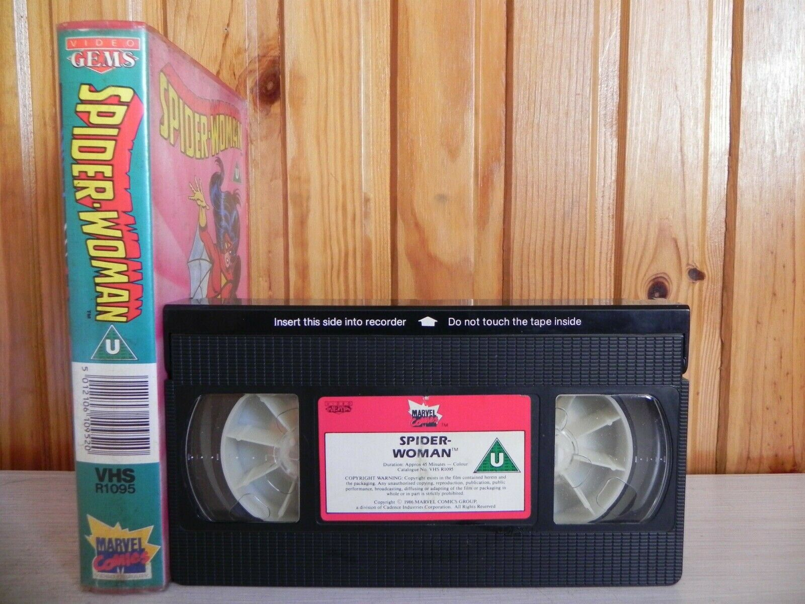 Spider-Woman & The Great Magini - T.V. Series (1979) - Marvel Comics Video - VHS