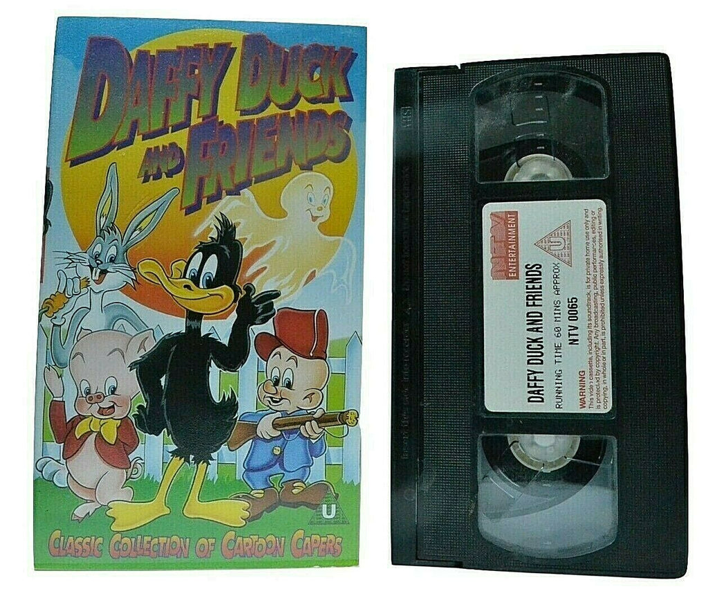 Daffy Duck And Friends: The Wacky Wabbit - Bugs Bunny - Animated - Kids - VHS