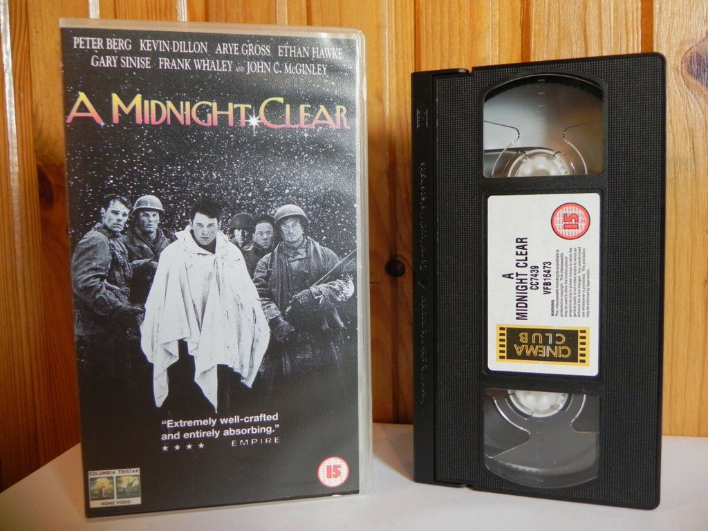 A Midnight Clear - Columbia Tristar - War Drama - Peter Berg - Gary Sinise - VHS