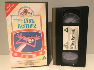 The Pink Panther (MGM/UA); [Henry Mancini] Animated - Children's - Pal VHS